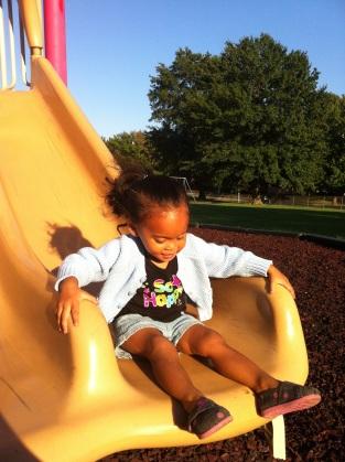 On the slide Thursday.