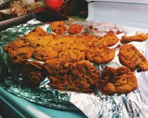 ...and so we had droopy cookies :)