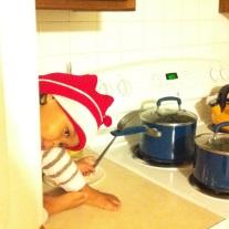 Kitchen helper.