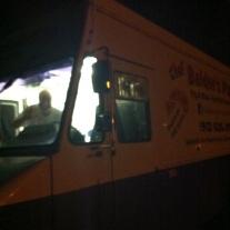 Pizza truck guy says, Hi!