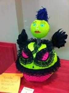 Victoria's Secret Pumpkin at work