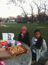 Dinner at the park