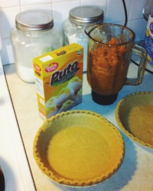 Puto and Pies. Those who thought I was just trying to get away with cursing in Spanish, here is your proof :)