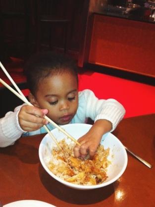 Chopsticks and Filipino chopsticks :)