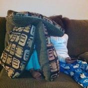 Playing hide and seek. YEA.